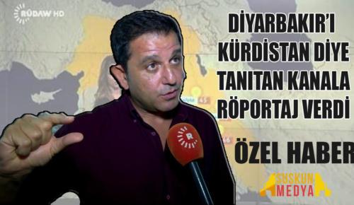 Fatih Portakal PKK'yı öven kanala röportaj verdi!