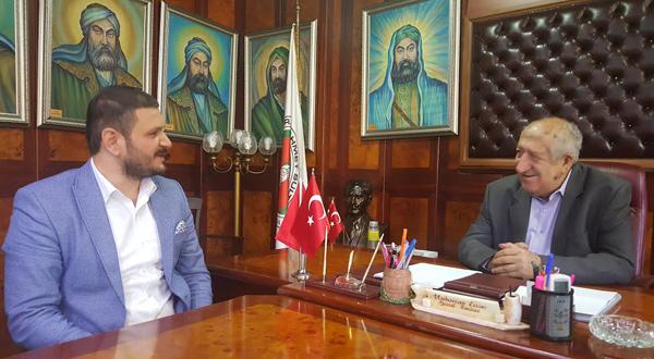 İstanbul Alperen Ocakları'ndan Cem Evi'ne anlamlı ziyaret