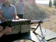 İlk yerli makinalı tüfeğin atış görüntüsü yayınlandı!