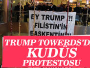 Trump Towers'da Kudüs Protestosu