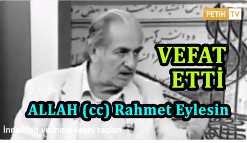 """Üstad Kadir Mısıroğlunun Damga Vuran Konuşması """"Osmanlı'ya karşı olan herkese karşıyım"""""""